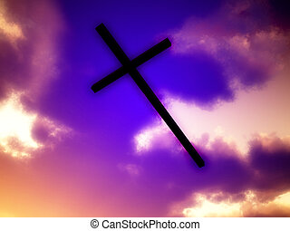 Cross Of Jesus In The Sky 3