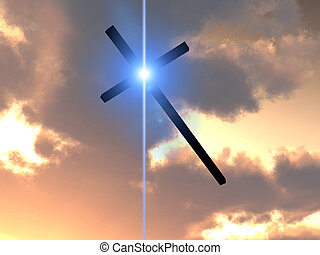 Cross Of Jesus In The Sky 6