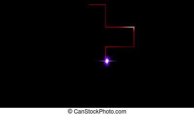 Cross of Jesus sketch animation