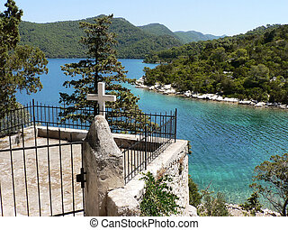 Cross on Mljet