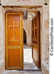 Cross on the Door