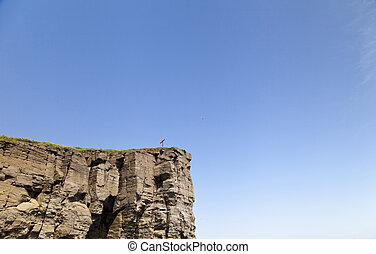 Cross on the rock