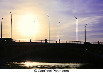 Cross over the bridge