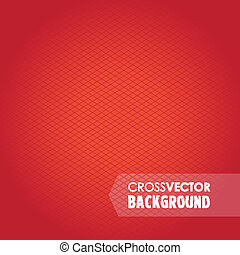 cross red background