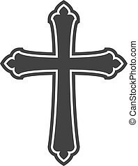 cross., religion, symbole, église, christianisme