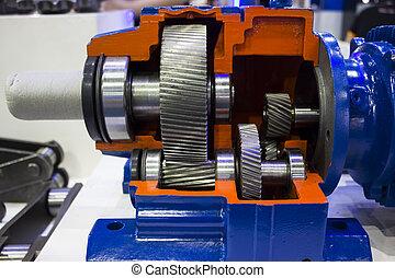 Cross Section of Gear pump