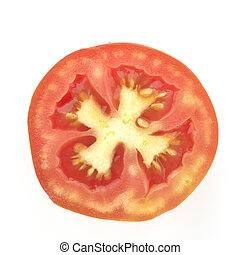 Cross section of Red Tomato