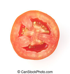 Cross section of Tomato