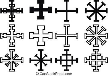 cross set,