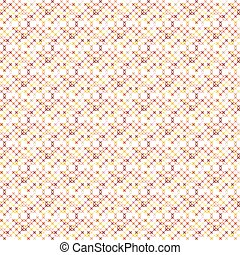 Cross stitch seamless vector pattern.