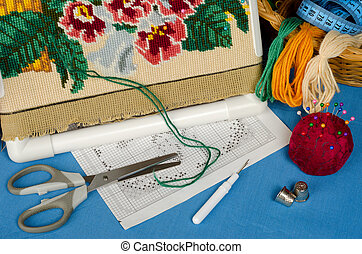 Cross-stitch set