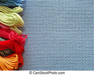 cross-stitch - embroidery, cross-stitch,  backgrounds