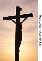 Cross - A cross on a mountain