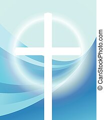 Cross vector abstract background