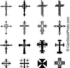 Cross Vector Icons