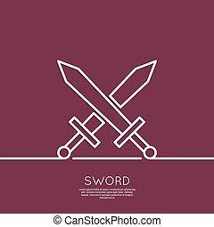 Crossed Swords.