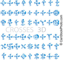 Crosses 3D