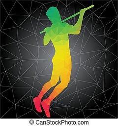 crossfit, pessoas, silhuetas, vetorial, condicão física, treinamentos
