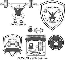 crossfit weightlifting logo