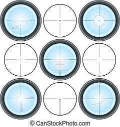 Crosshair - Different types of crosshair