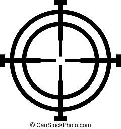 Crosshair hunter reticle