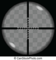 Crosshair - Put your text or picture behind the crosshair,...