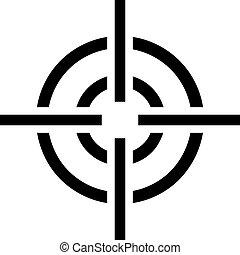 Crosshair recticle