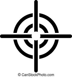 Crosshair target icon