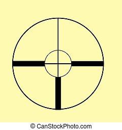 Crosshair, Target  sign