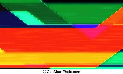 Crossing Lines Abstract Loop