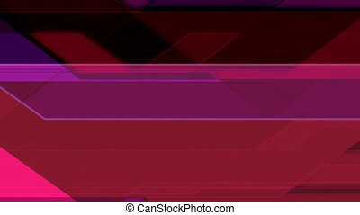 Looping Crossing Lines Abstract Animated Background