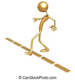 Crossing The Line - Concept & presentation figure 3D