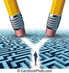 crossroad, solução