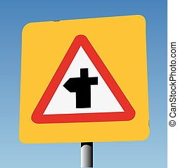 Crossroads Ahead On Yellow