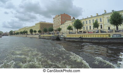 Crossroads channels in St. Petersburg