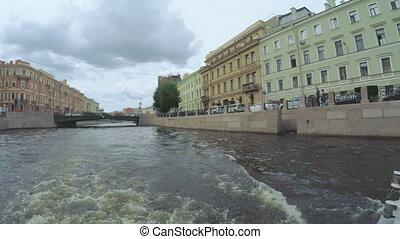 Crossroads channels in St. Petersburg - RUSSIA, SAINT...
