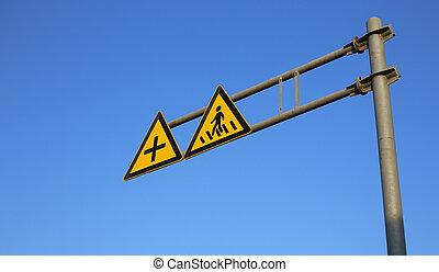 crosswalk, sinal estrada