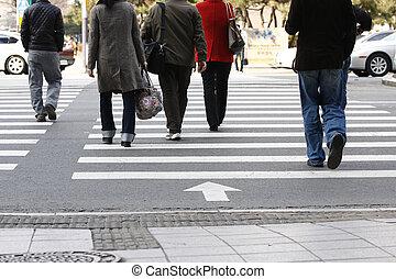 crosswalkers