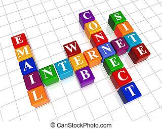 crossword 22 - internet