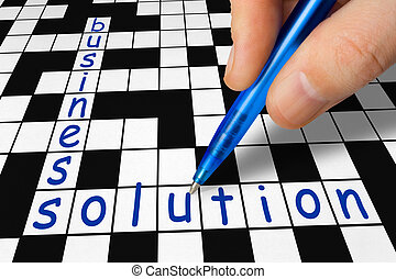 Crossword - business and solution