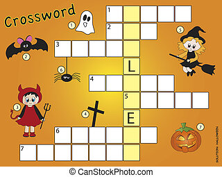 crossword halloween