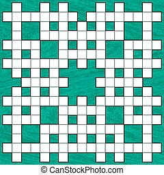 Crossword - Illustration of the crossword puzzle pattern on ...