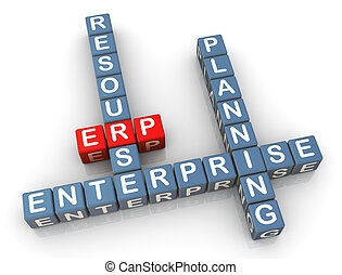 Crossword of erp