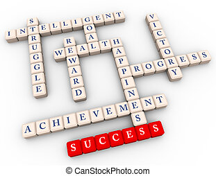 Crossword of success