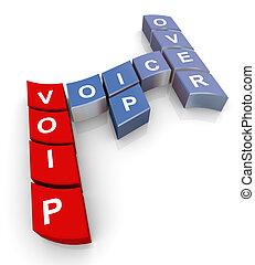 Crossword of voip
