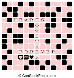 crossword puzzle of love