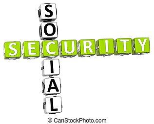 crossword, segurança, social