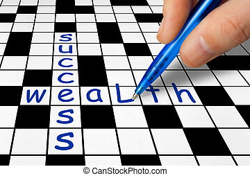 Crossword - Success and Wealth