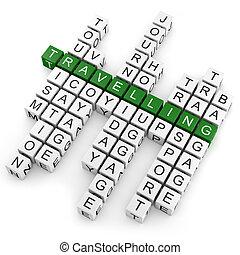 Crossword travelling