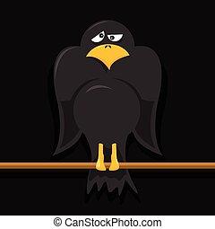 Crow Cartoon